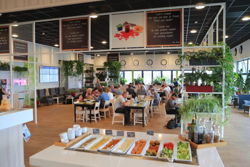 Greenhouse Marketeers en Koppert Cress bedrijfsrestaurant